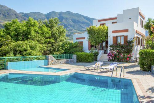 Leuk vakantiehuis Villa Thymari in Griekenland