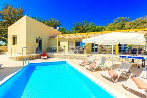 Leuk vakantiehuis Villa Trules in Griekenland