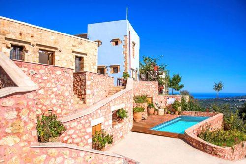Leuk vakantiehuis Villa Veneciana in Griekenland