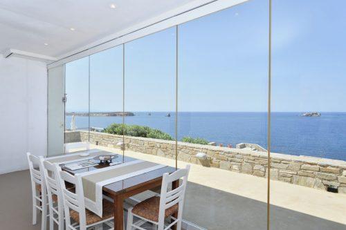 Leuk vakantiehuis Waterfront Villas Paros Studio Kea in Griekenland
