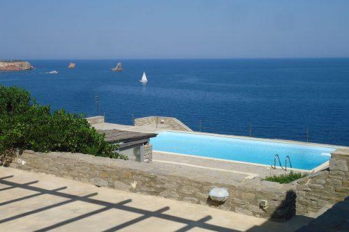 Leuk vakantiehuis Waterfront Villas Paros Villa Delos in Griekenland
